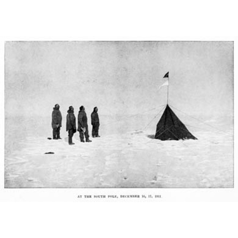At the Pole, December 1911