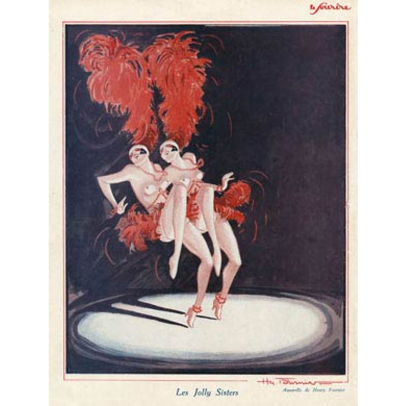Les Jolly Sisters, 1927