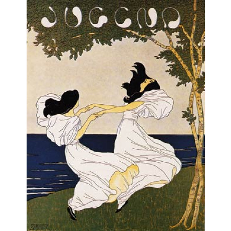 Jugend, 1897, Girls Dancing