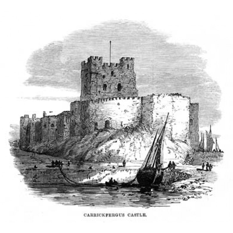 PLIR1081, Carrickfergus Castle, 1874