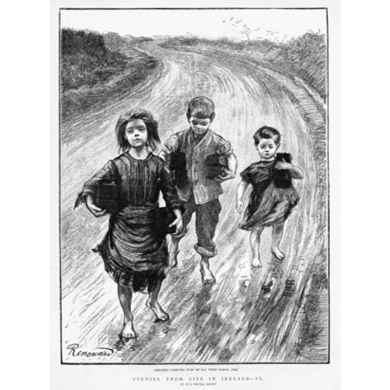 Carrying Turf for School Fees, 1888