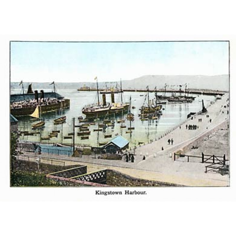 Kingstown Harbour, 1910