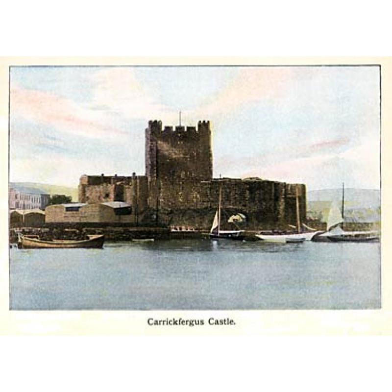 Carrickfergfus Castle, 1910