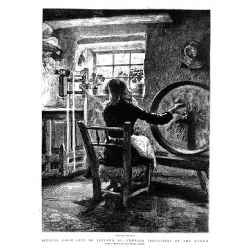 Irish Weaving, 1888