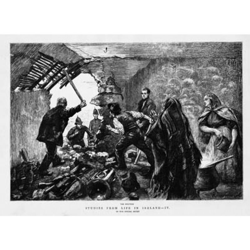 Irish Eviction, 1888