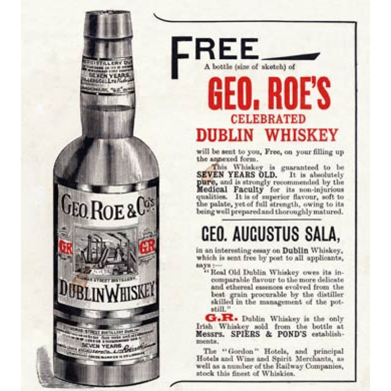 Geo Roes Dublin Whiskey