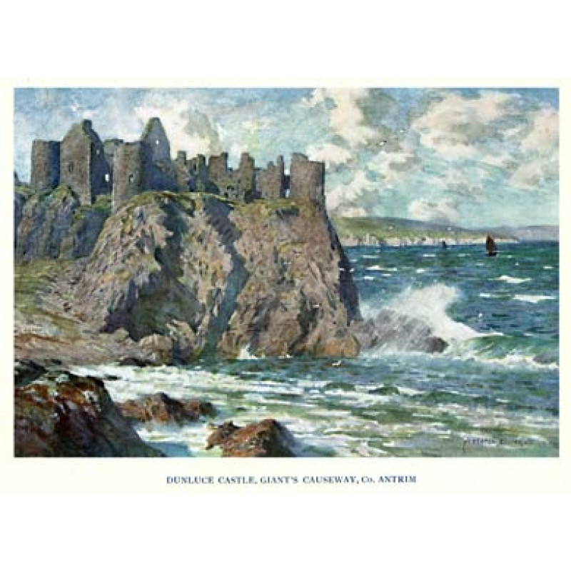 Dunluce Castle, Co Antrim, 1925