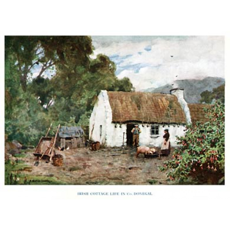 Cottage, Donegal, 1925