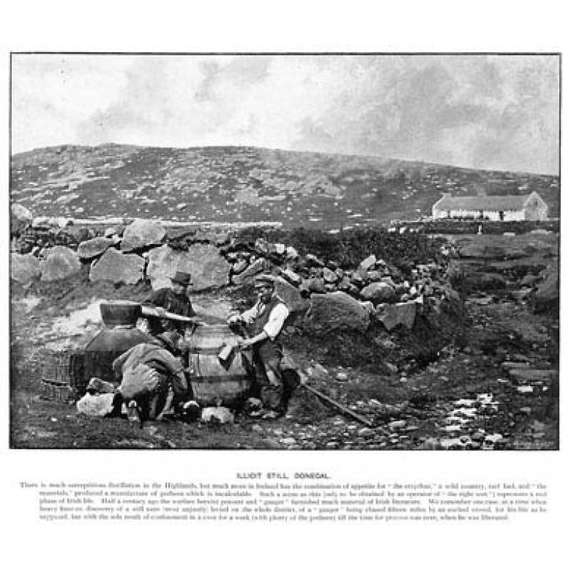 Illicit Still, Donegal, 1901