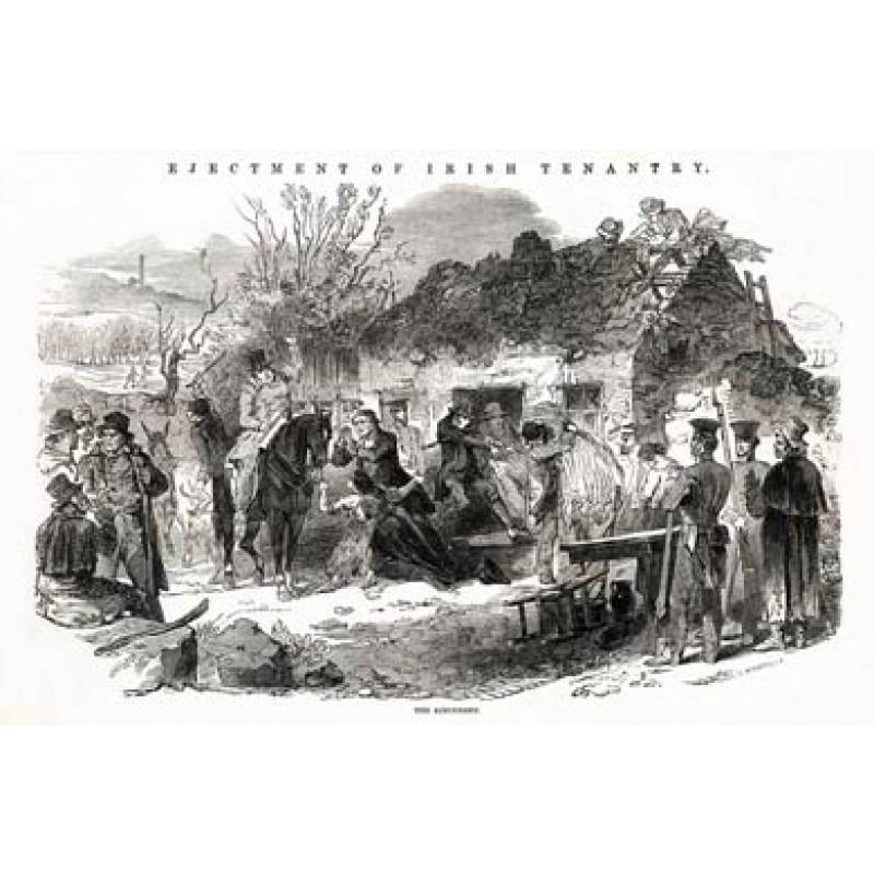 Evictions of Irish Tenantry, The