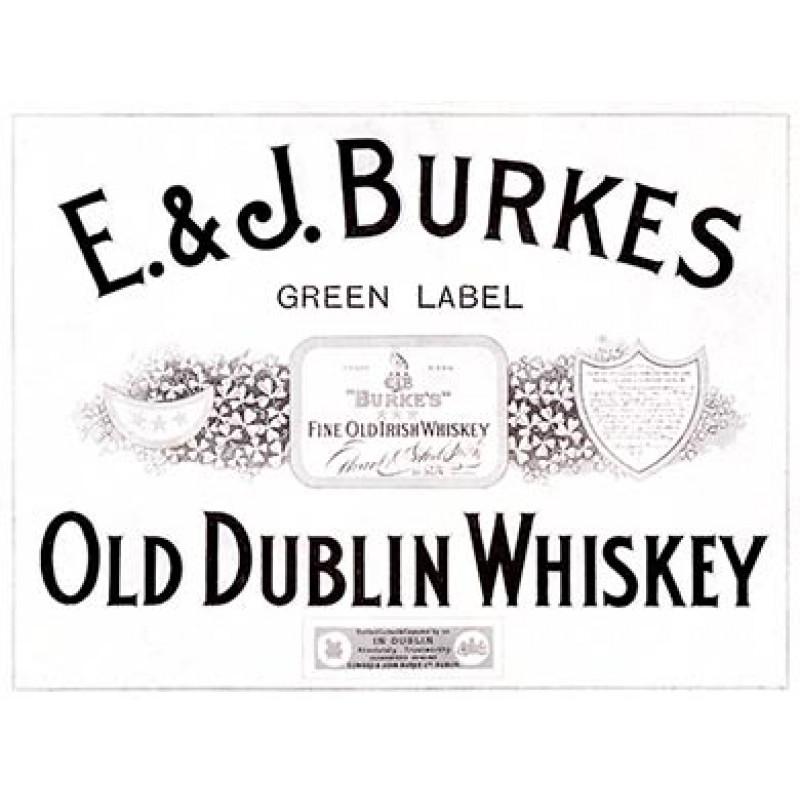 E&J Burkes Old Dublin Whisky, 1916