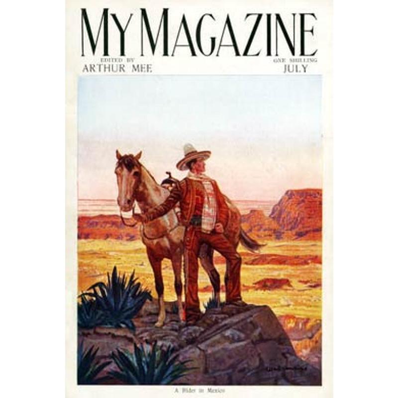 My Magazine, A Rider In Mexico