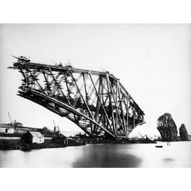 Forth Bridge, Construction, 1889