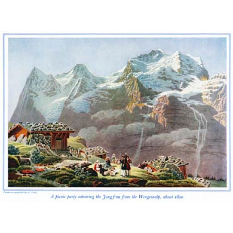 Jungfrau from the Wengernalp
