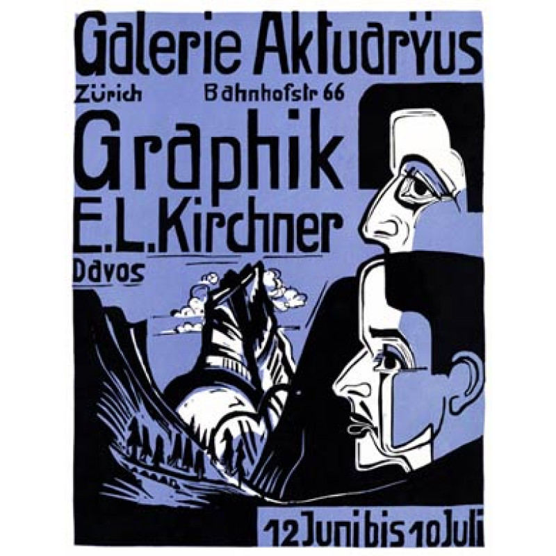 Ernst Ludwig Kirchner, Zurich, 1933