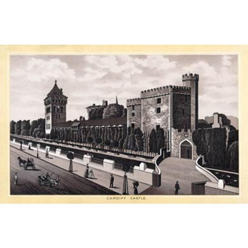 Cardiff Castle 1896