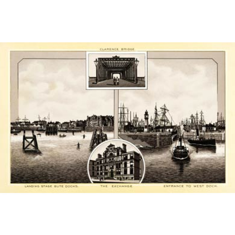 Cardiff Docks 1896