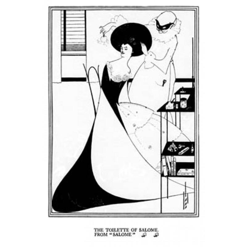Aubrey Beardsley, Salome, The Toilette of Salome