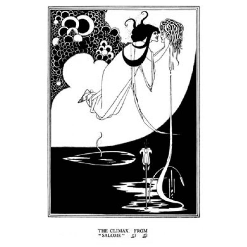 Aubrey Beardsley, Salome, The Climax