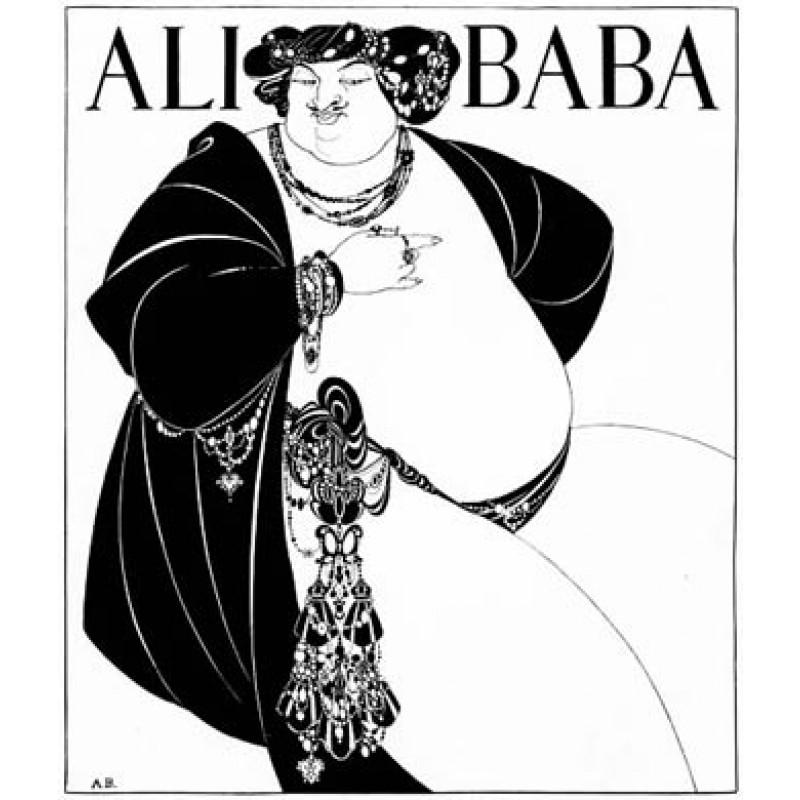 Aubrey Beardsley, Ali Baba