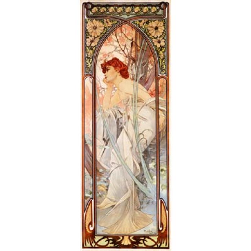Mucha, Evening Reverie, 1899