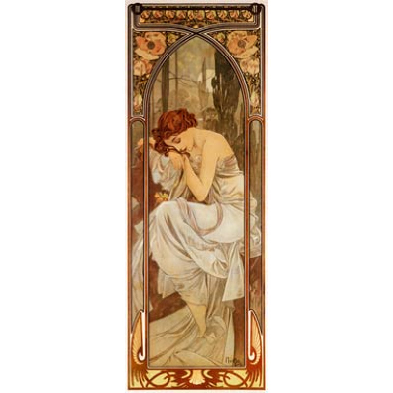 Mucha, Nightly Rest, 1899