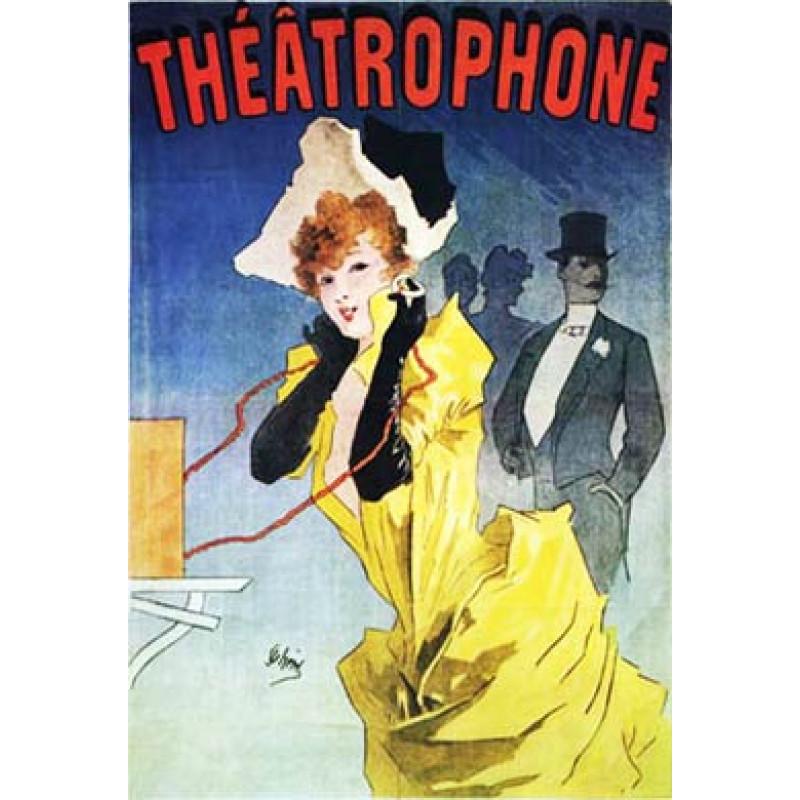 Cheret, Theatrophone, 1890