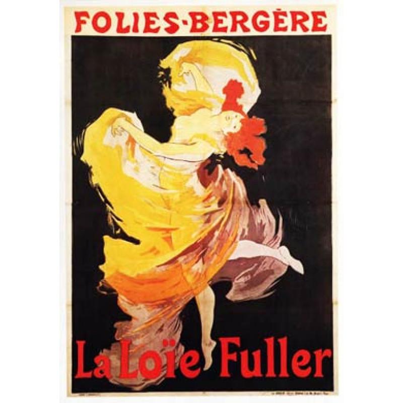 Cheret, Folies Bergeres, Loie Fuller, 1893