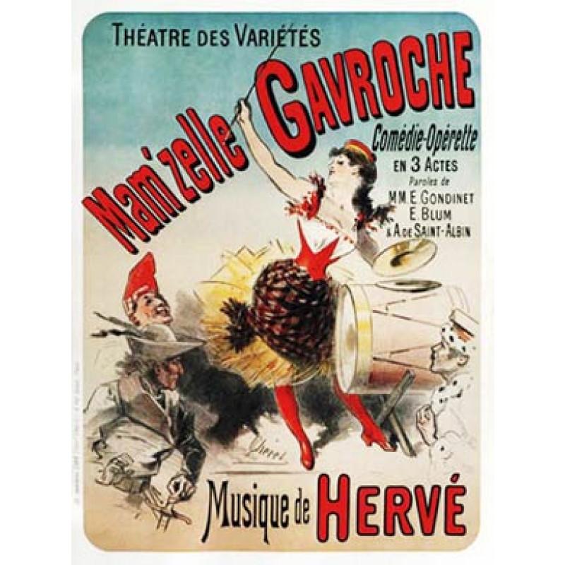 Cheret, Mamzelle Gavroche, 1885