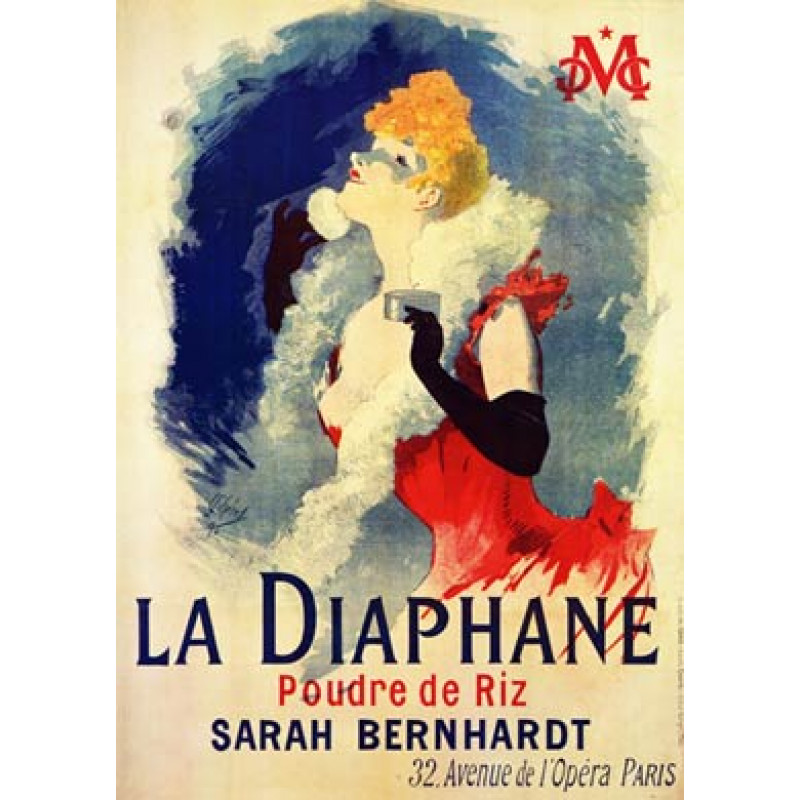 Cheret, La Diaphane, 1890