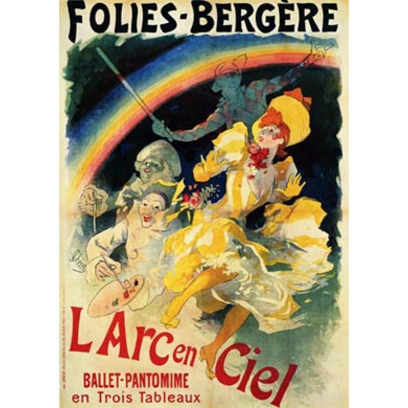 Cheret, Folies Bergere, 1893