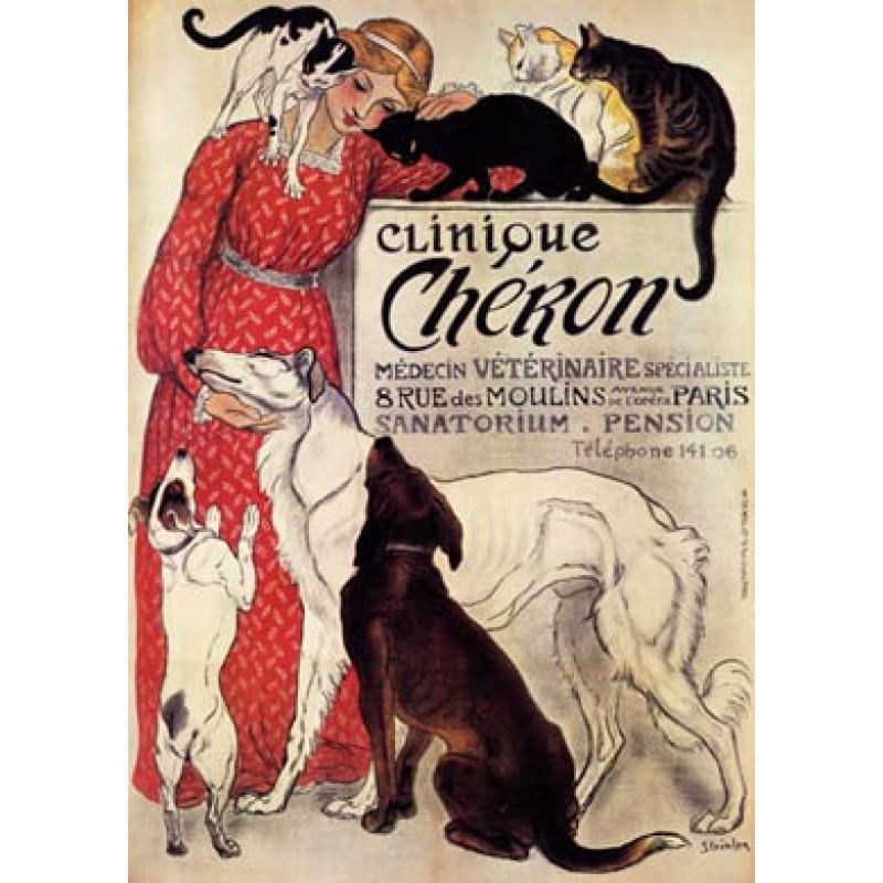 Steinlen, Clinique Cheron, 1894