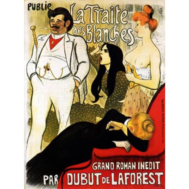 Steinlen, La Traite Des Blanches, 1900
