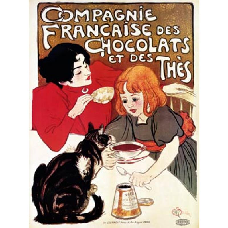 Steinlen, Compagnie Francaise, 1896