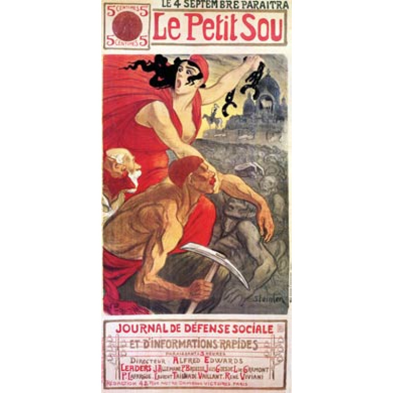 Steinlen, Le Petit Sou, 1900