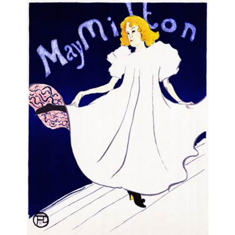 May Milton, 1895