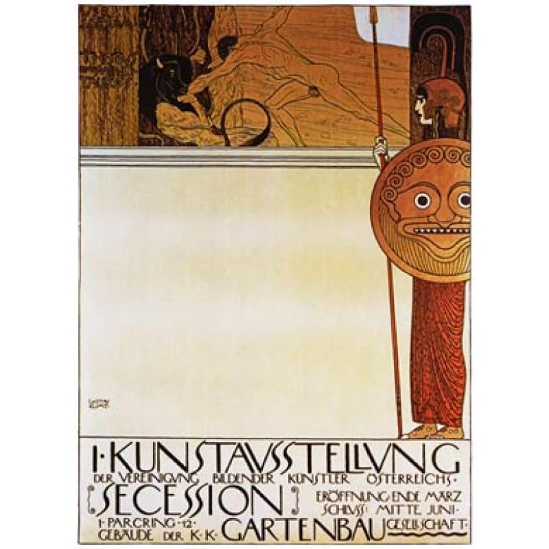 Gustav Klimt, Theseus and the Minotaur, 1898