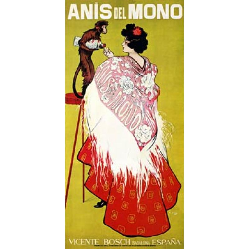 Anis del Mono, 1898