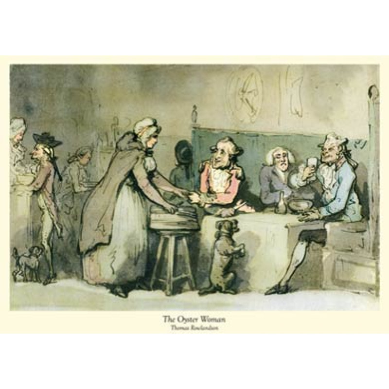 Rowlandson, The Oyster Woman