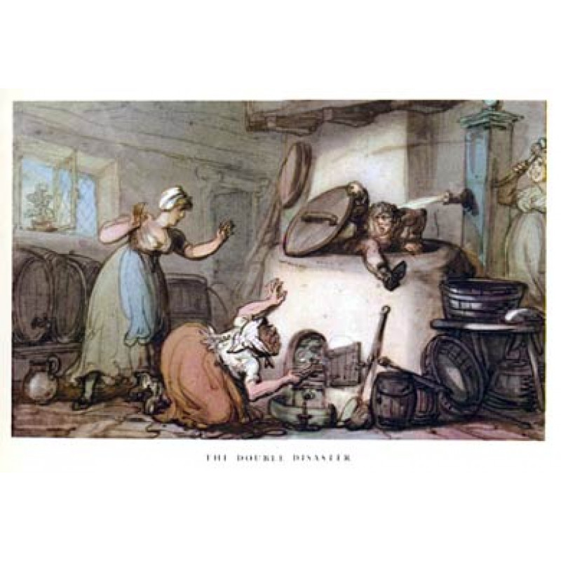 Rowlandson, The Double Disaster