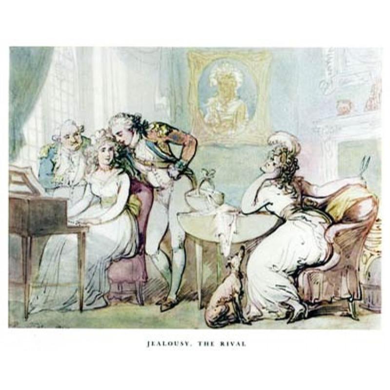 Rowlandson, Jealousy, The Rival