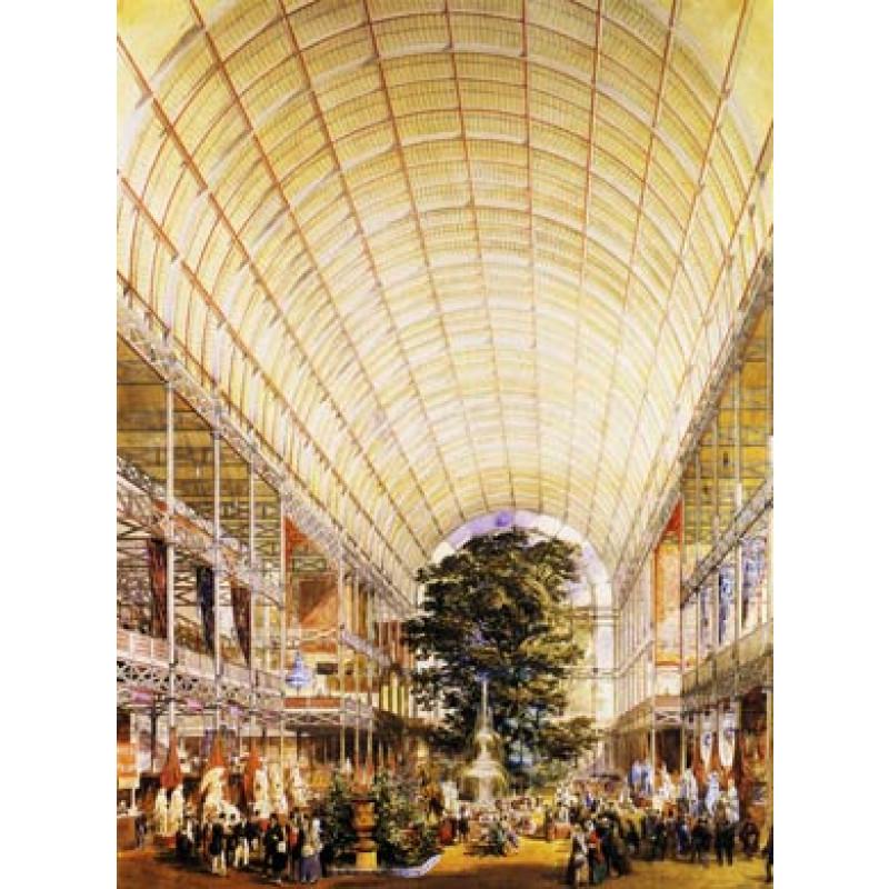 Crystal Palace, Interior 1851