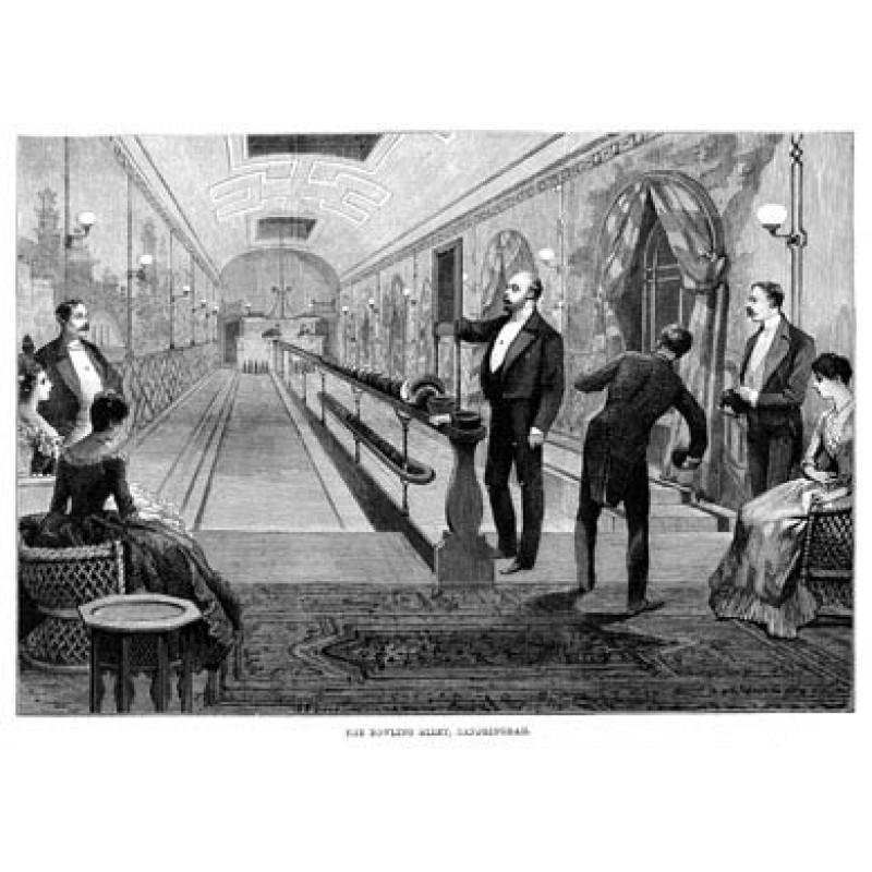 Bowling at Sandringham, 1888