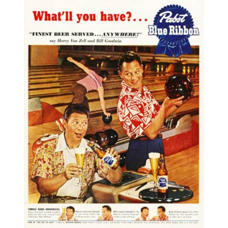 Pabst Beer, Bowling