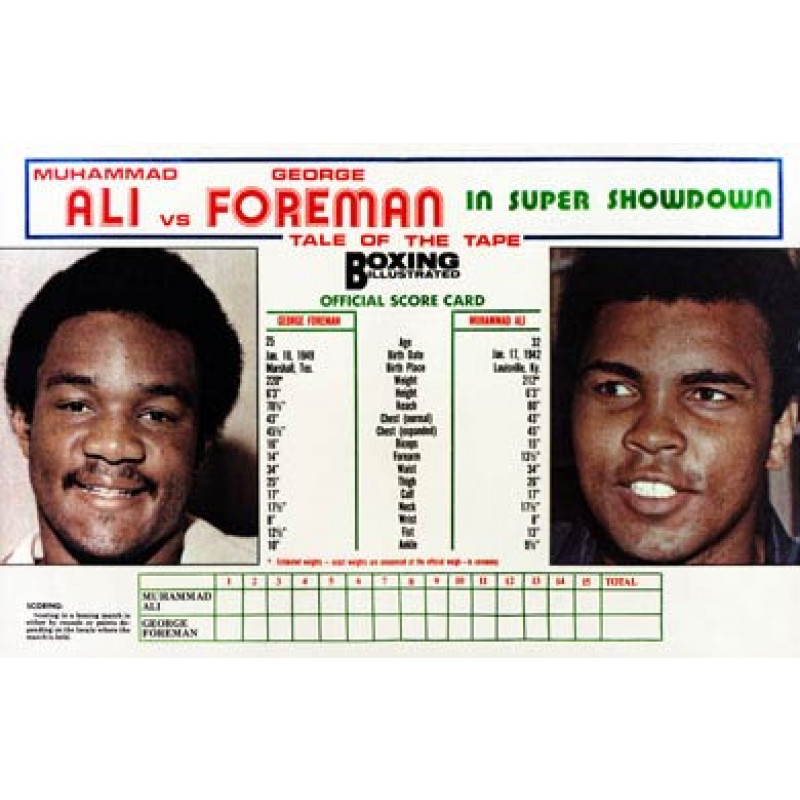 Ali v Foreman Stats
