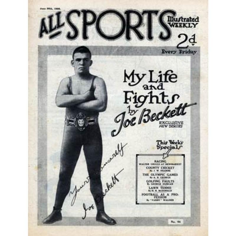 All Sports, Joe Beckett
