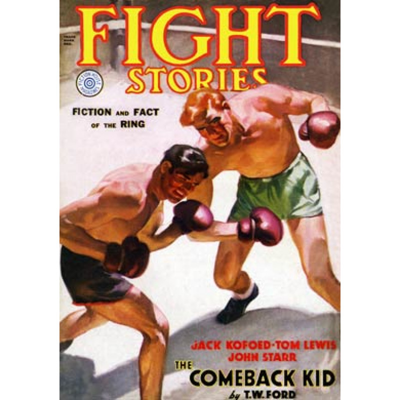 Fight Stories, The Comeback Kid