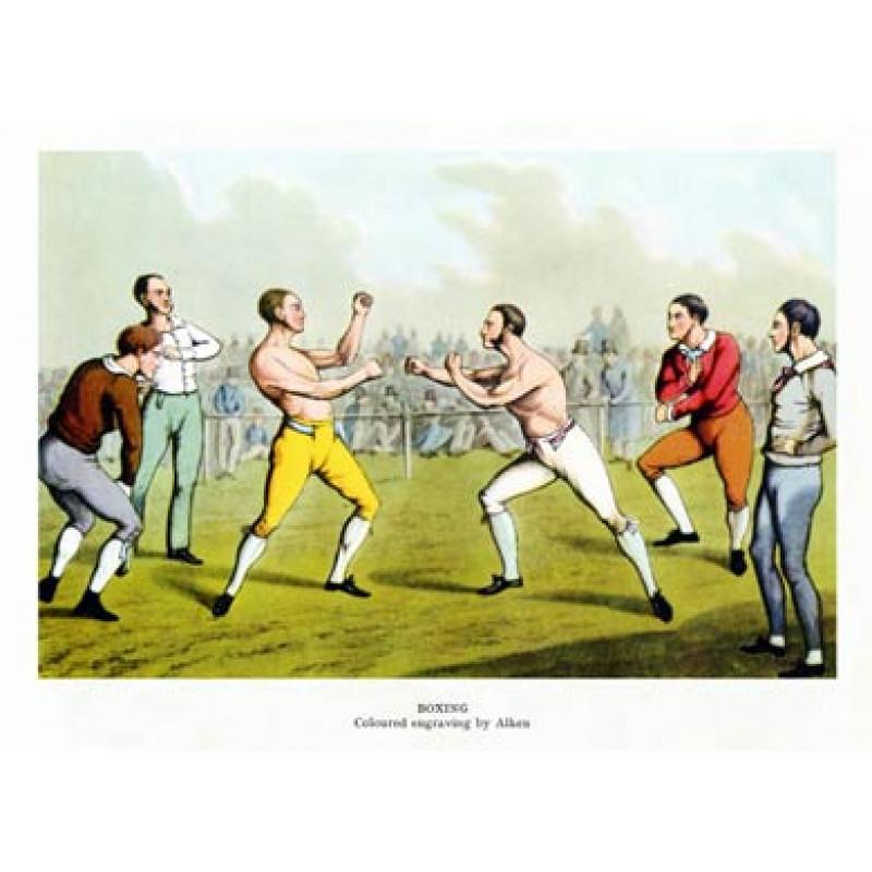 Boxing, by Alken