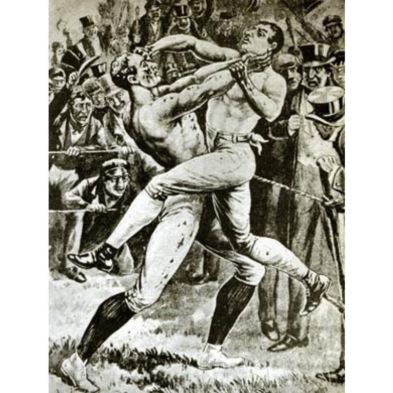Bendigo v Ben Caunt, 1845