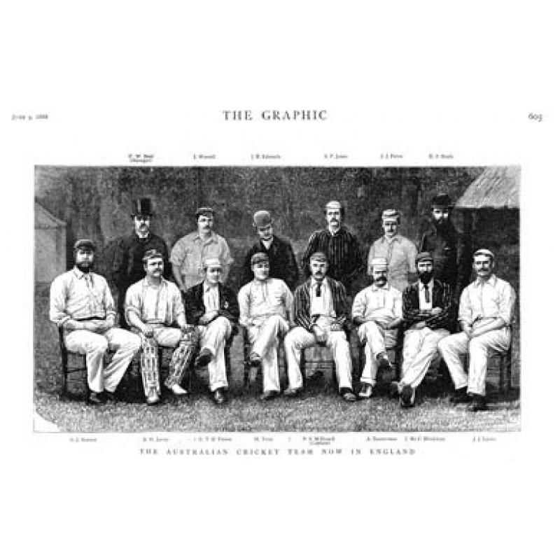 Australian Cricketers, 1888